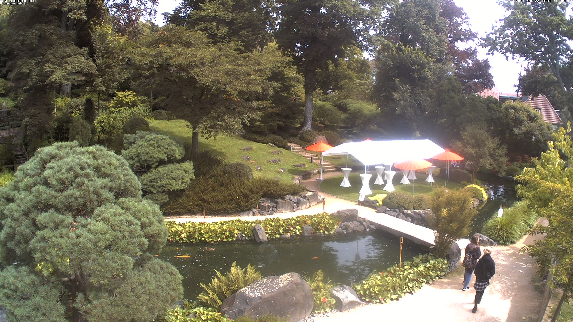 Japanese Garden Webcam 2
