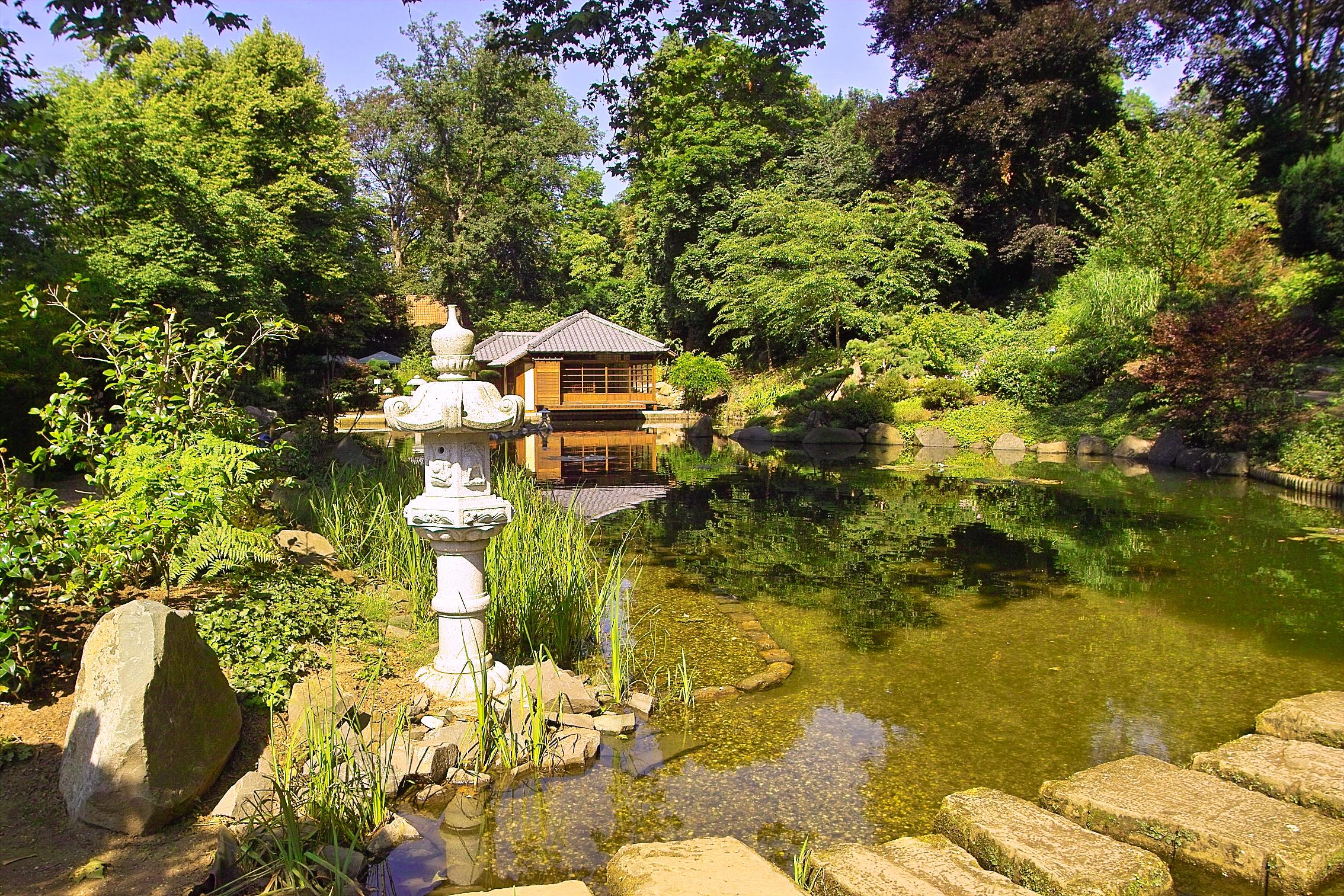 japanese garden - stadt kaiserslautern
