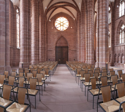 Interior view of the Collegiate Church