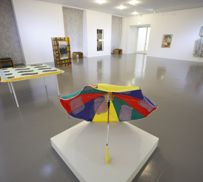 Exhibition room at the Palatinate Gallery