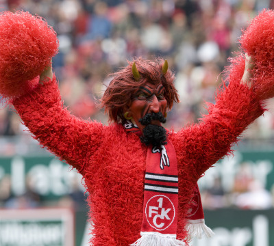 Red Devil - the mascot of the 1. FC Kaiserslautern