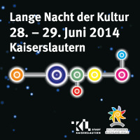 Logo Lange Nacht der Kultur<br /> Bunte Kreise, die miteinander verbunden sind.