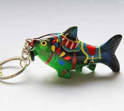 Key ring with the fish
